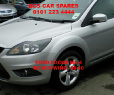 FORD FOCUS 4  PASSENGERS  SIDE WING  N/S   SILVER   2008 - 2010